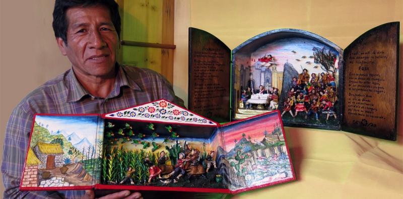 visita guiada con Edilberto Jimenez