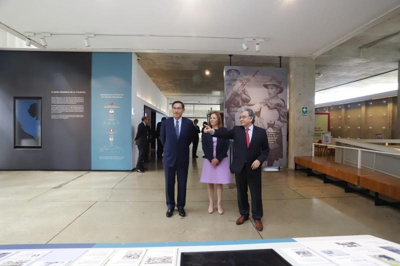 Presidente Vizcarra visita el LUM